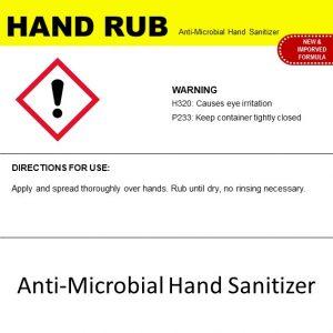 HAND RUB