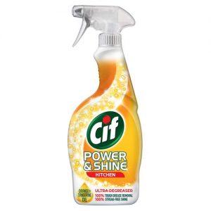 CIF POWER & SHINE KITCHEN CLEANER