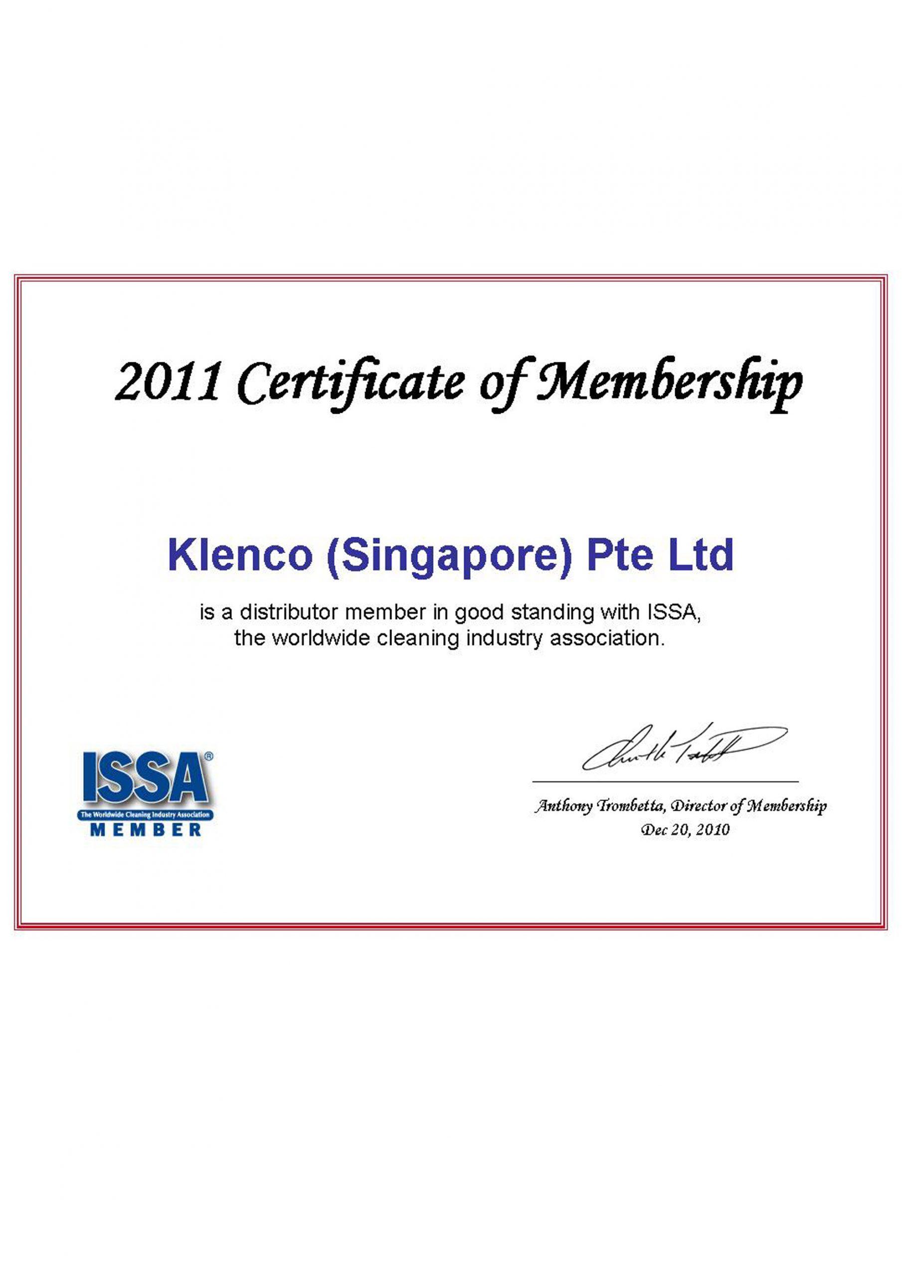 2011-ISSA