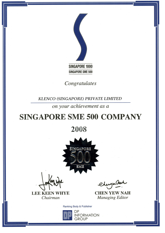 SME500-AWARD-2008